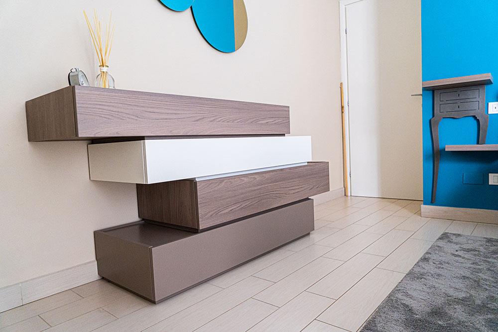 progettazione arredo camera matrimoniale pisa mobili gronchi
