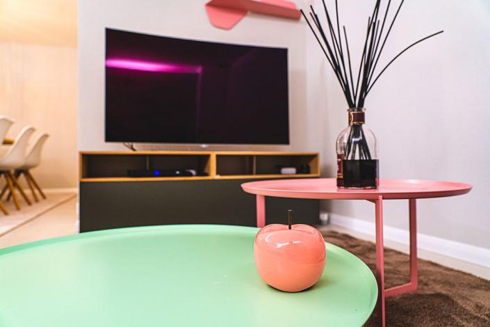 progettazione arredo soggiorno moderno pisa