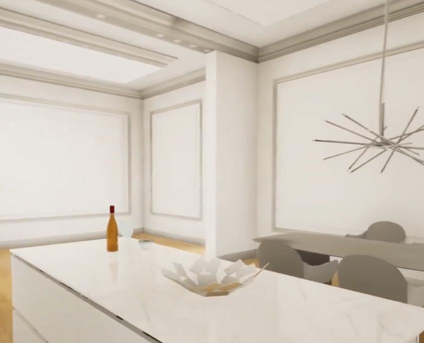 progetto 3d virtuale casa cenaia pisa