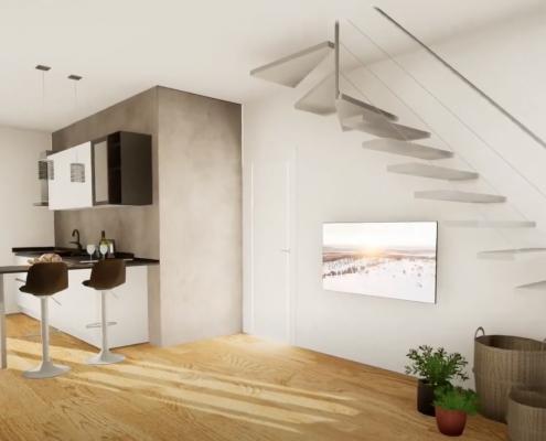 virtualizzazione casa 3d cenaia pisa