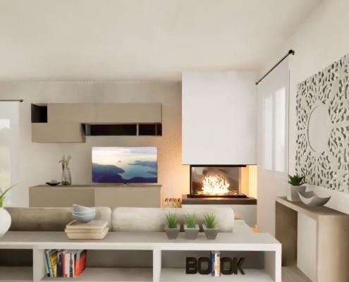 virtualizzazione 3d casa cenaia pisa mobili gronchi
